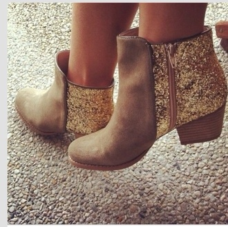 shoes glitter boots