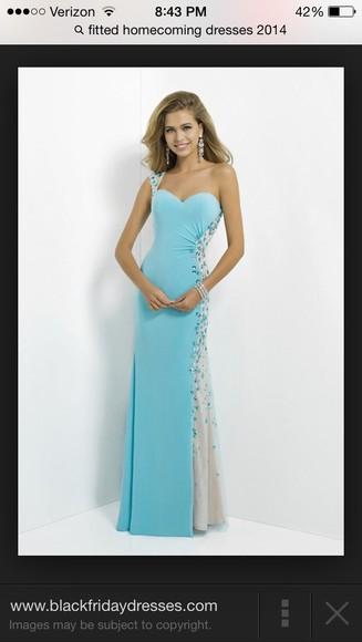 baby blue dress prom dress long prom dresses one shoulder dress elegant fashion simple dress