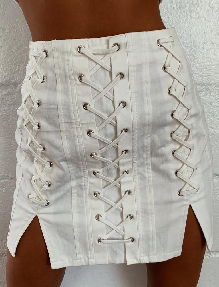 Ford Skirt - White - XS WHITE