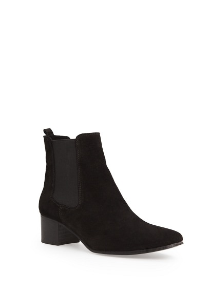 MANGO - Accessories - Shoes - Suede chelsea ankle boots