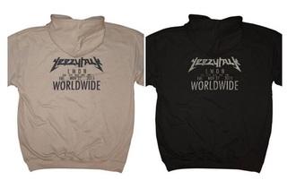 jacket yezzy yezzus sweatshirt kanye west black beige trendy