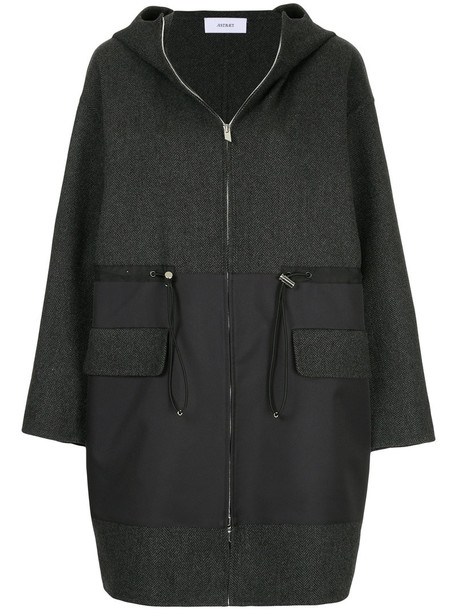 Astraet parka women wool grey coat