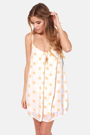O'Neill Paige Cream Print Dress - $49.50 : Fashion Dresses at LuLus.com