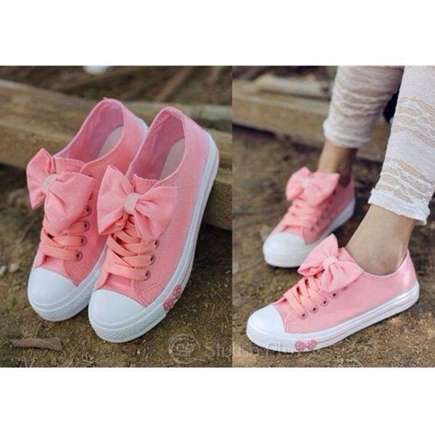 shoes, flowers colors shoes pink, pink
