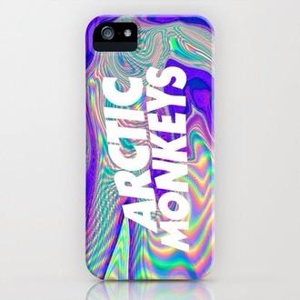 jewels trippy iphone 4 case bag iphone case arctic monkeys phone cover print tie dye mirror iphone