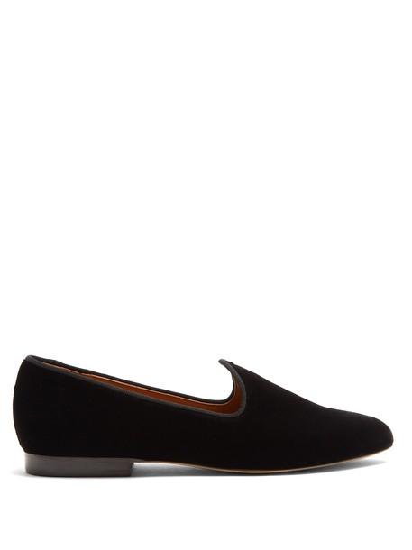 LE MONDE BERYL shoes velvet black