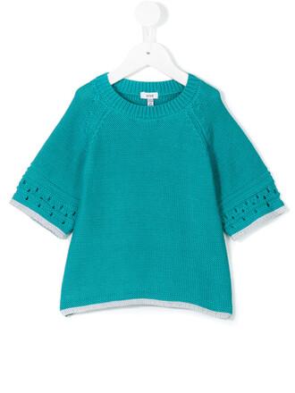 jumper cotton blue sweater