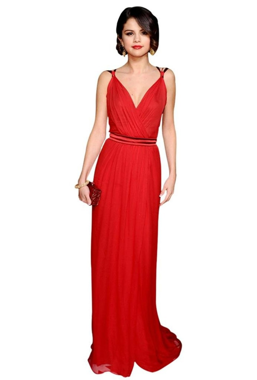 Aliexpress.com : Buy Red Elegant Sexy V Neck sleeveless pleated thin sash Strap Floor length Chiffon Evening Dress/ED033 from Reliable dress up sex girls suppliers on Queen's Dress&Shinning Life