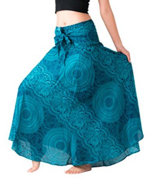 skirt teal turquoise boho boho chic