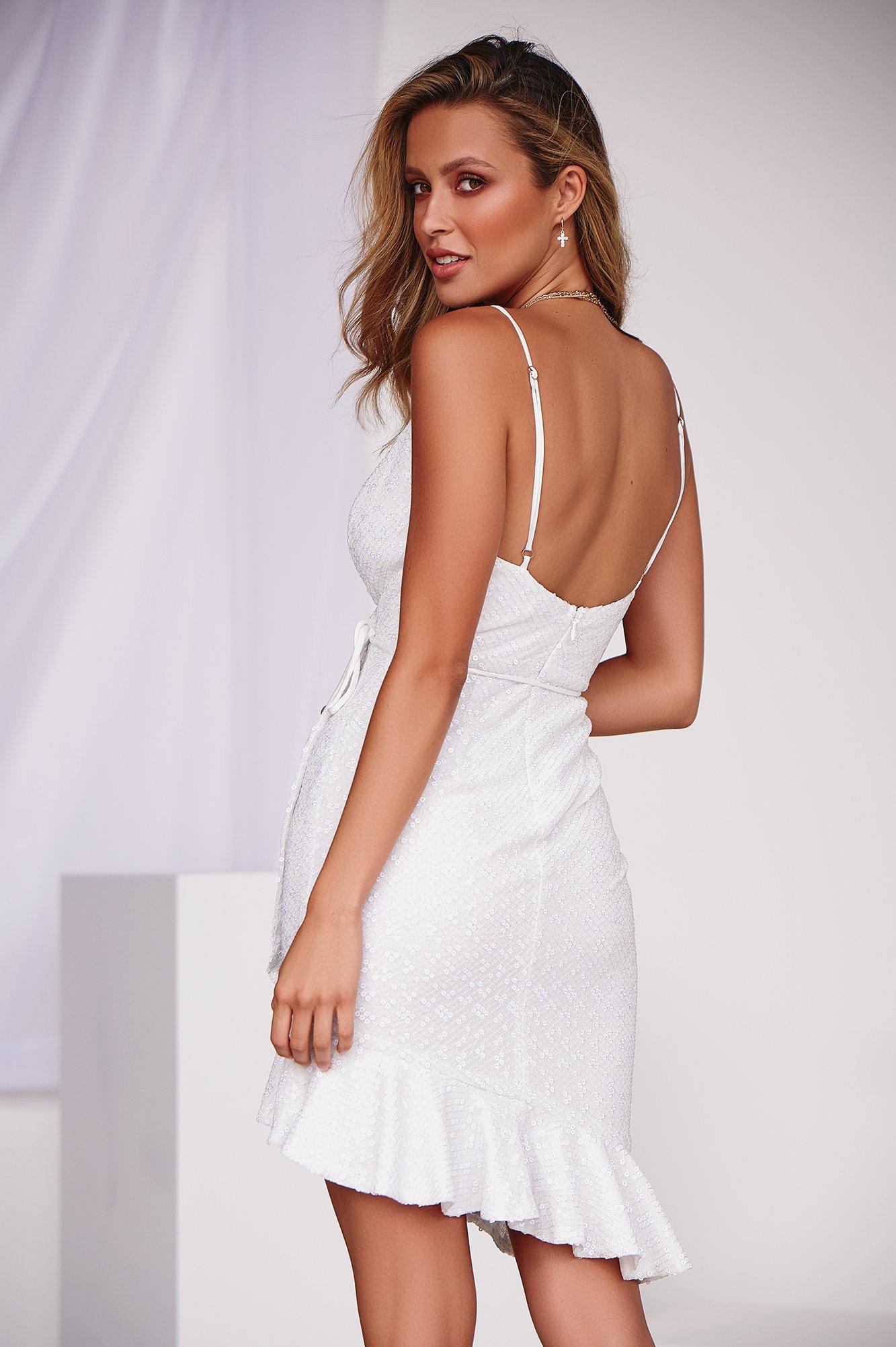 Suddenly in Love Dress (White)