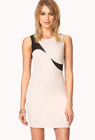 Forget-Me-Not Bodycon Dress | FOREVER21 - 2000127553