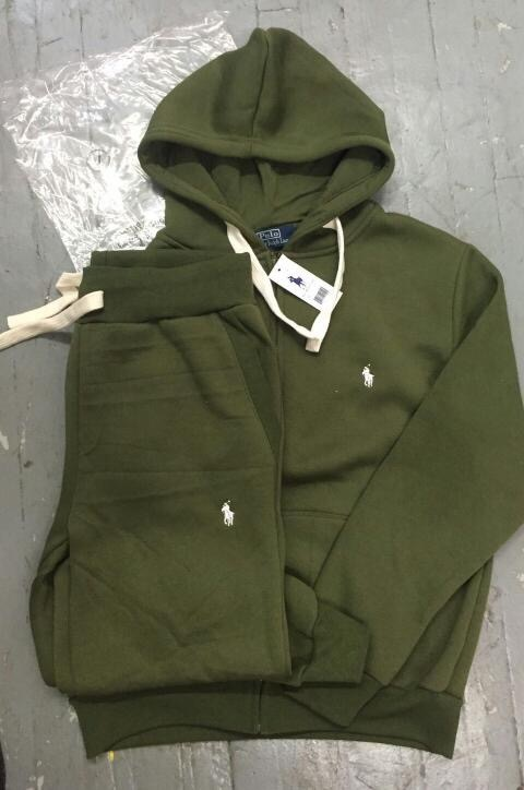 4b51a2c60ff Green Polo Sweat Suit