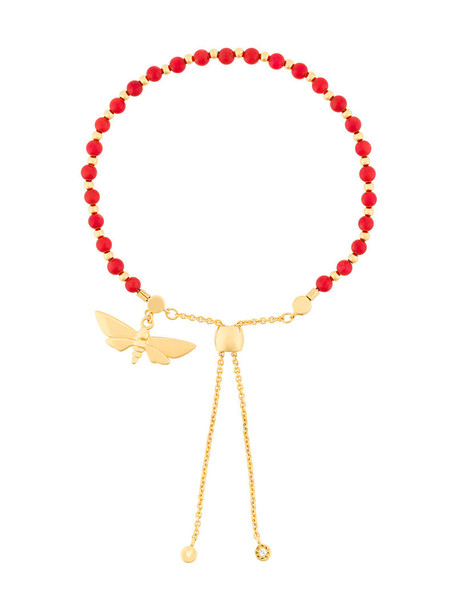 sea women gold red jewels