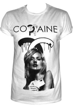 To The Black Clothing. Cocaine T-Shirt