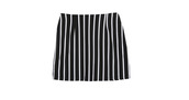 skirt,clueless,high waisted skirt,vintage skirt,white stripe skirt,vintage,90's skirt,90s style