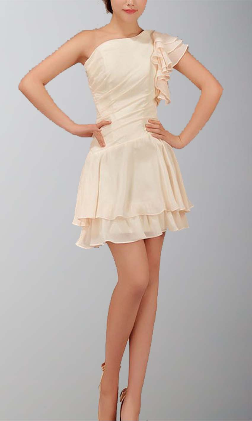 Chic Unique One Shoulder Layered Short Summer Dress KSP017 [KSP017] - £78.00 : Cheap Prom Dresses Uk, Bridesmaid Dresses, 2014 Prom & Evening Dresses, Look for cheap elegant prom dresses 2014, cocktail gowns, or dresses for special occasions? kissprom.co.uk offers various bridesmaid dresses, evening dress, free shipping to UK etc.