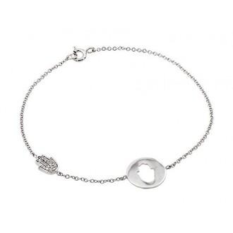 jewels jewel cult hamsa hamsa hand hamsa bracelet bracelets silver silver bracelets sterling silver sterling silver bracelet cubic zirconia dainty dainty bracelets dainty jewelry jewelry