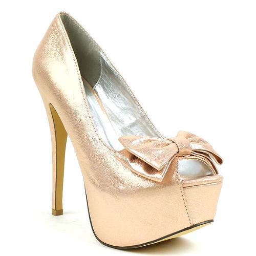 03 peep toe bridal bow pump platform stiletto heels