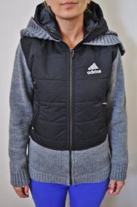 Amazon.com: Adidas Mccartney Padded-panel Knit Zip-up Hoodie for Women: Sports & Outdoors