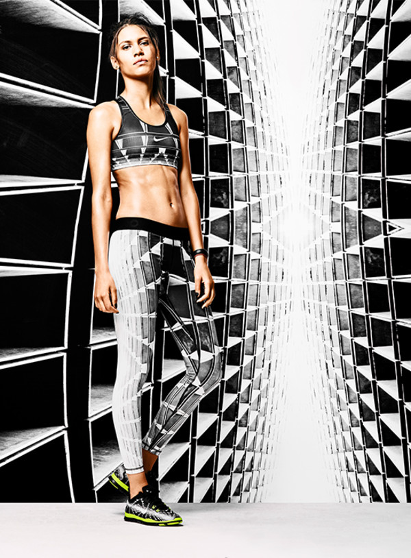 tights energia vivaz sportswear fitness nike tight of the moment sportswear nike sportswear workout leggings black and white black Flavio Samelo Jayelle Hudson brasilian limited pattern