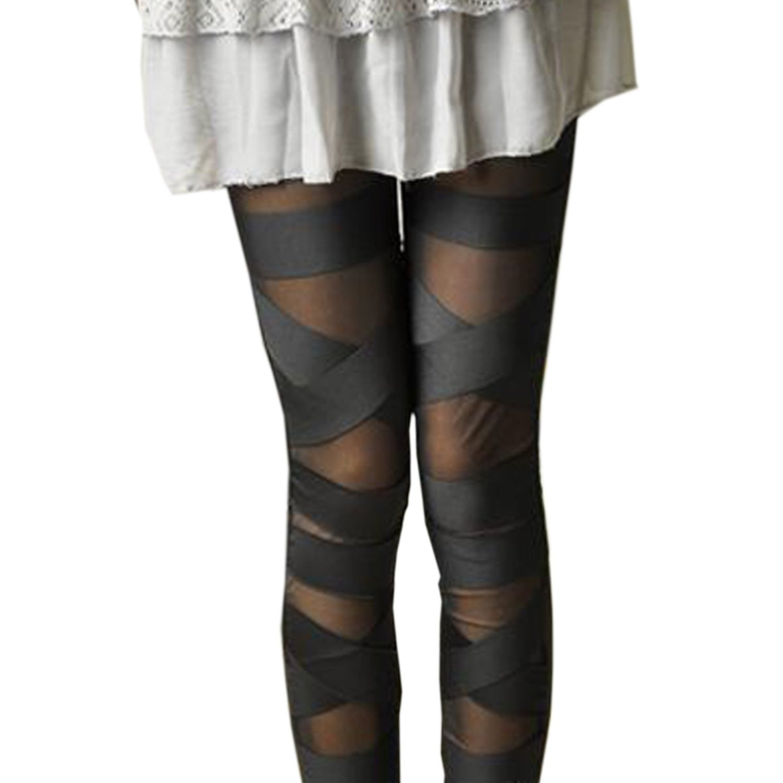 SeXy Leggings Damen Hose Leggins Japan Style schwarz Unigröße (32 34 36 38,40) T33: Amazon.de: Bekleidung