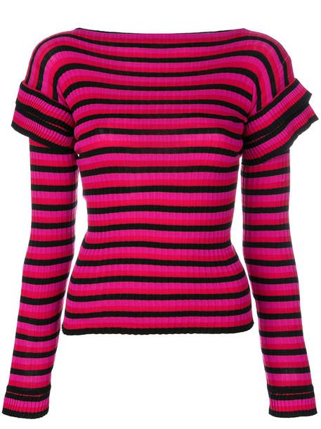 Philosophy di Lorenzo Serafini top women cotton purple pink bright