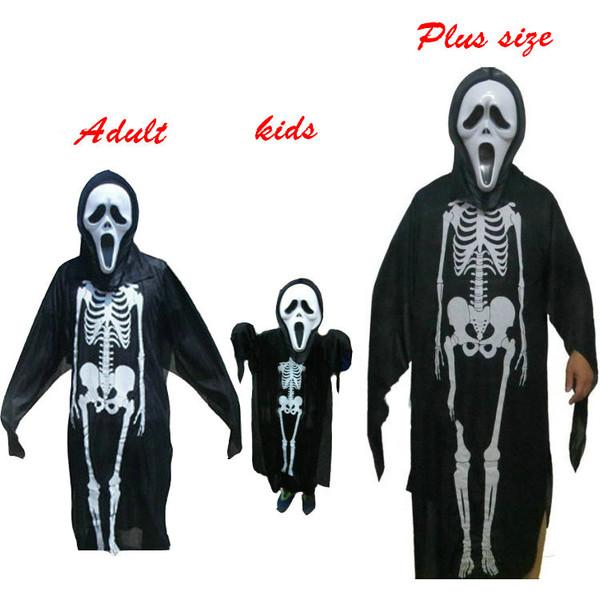 halloween costume skeleton