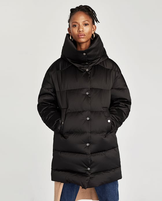 new arrivals great look fashionable and attractive package DOWN HIGH NECK PUFFER COAT - OUTERWEAR-WOMAN-SALE | ZARA Macedonia