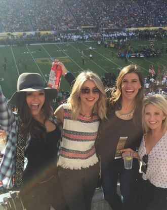 top stripes julianne hough instagram nina dobrev