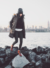 jag lever,blogger,jeans,down jacket,fall outfits,hipster