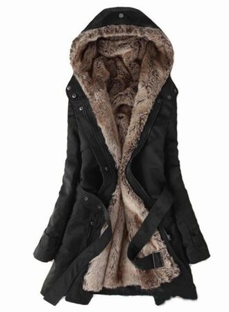 coat furry coat long coat black coat winter coat winter jacket long jacket black jacket furry