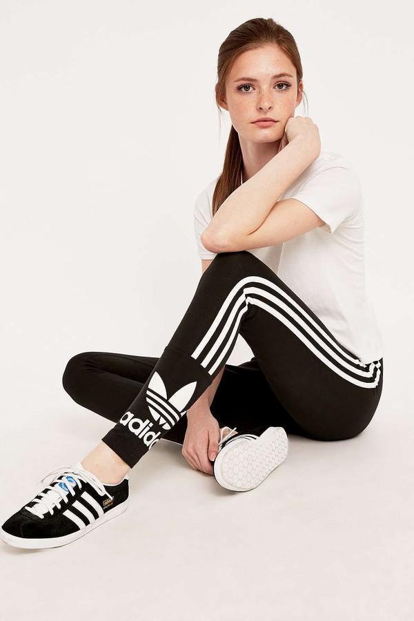adidas Originals Three Stripe Leggings Urban Outfitters