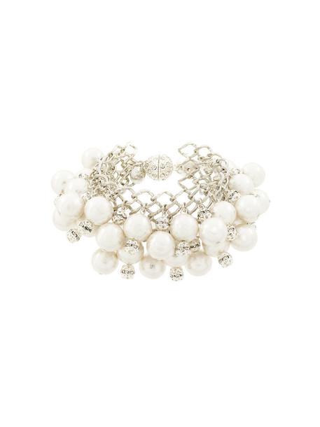 Moy Paris women pearl grey metallic jewels