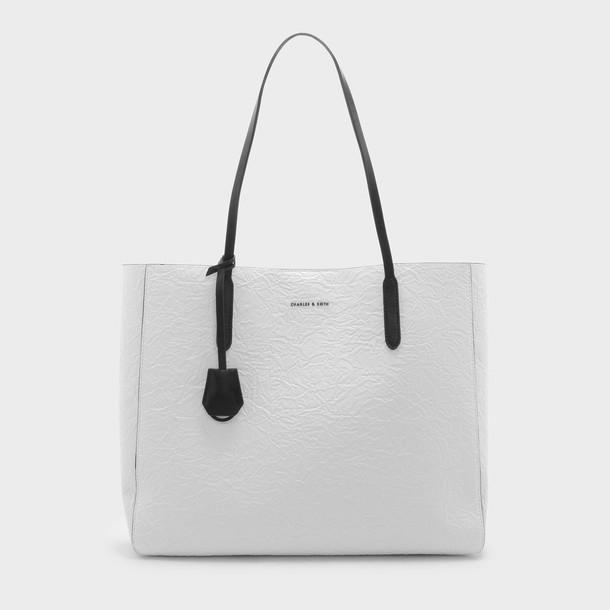 basic bag tote bag white