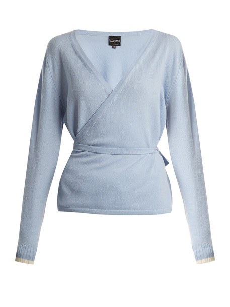 top wrap top light blue light blue