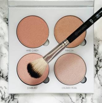 make-up makeup palette makeup brushes natural makeup look cheek blush