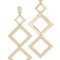 Adia kibur taylor tier earrings - gold