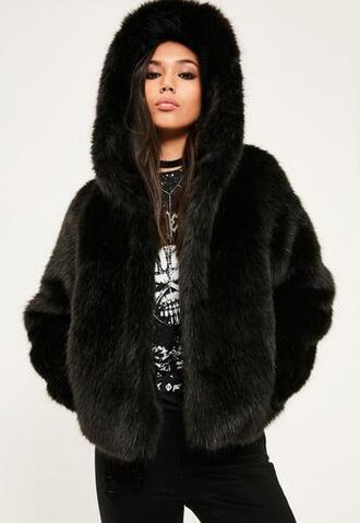 jacket fur jacket