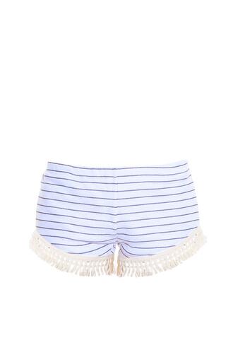 shorts tassel