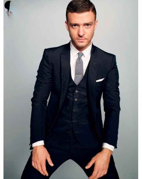 Coat: 3 piece suit, suit, justin timberlake, jacket ...