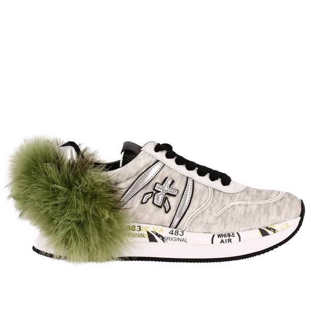 Premiata sneakers. women sneakers beige shoes