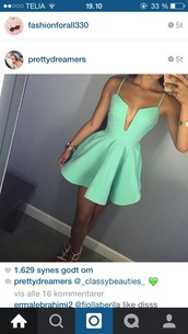 dress,mint dress,pinterest,instagram,tumblr outfit,tumblr,tumblr girl,tumblr clothes,style,summer dress,spring dress,spring,skater dress,summer outfits,sexy dress,summer,sexy,mint,cute,turquoise,cleavage,party dress,short dress,feminine,blue dress,ausschnitt cocktailkleid,ausschnitt partykleid,sweet dress,help me find,türkis,sweet,where can i get it !!,help me to find this dress,coral green cage dress,beutiful dress,party,same color