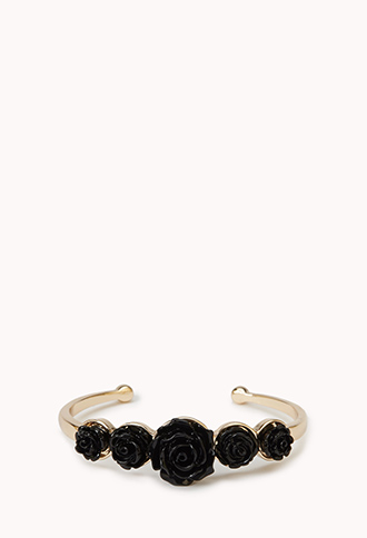 Carved Rose Bangle | FOREVER21 - 1000051307