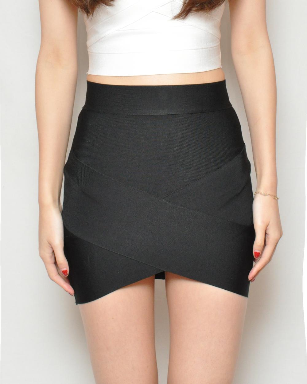 Candace Bandage Skirt — VINCA