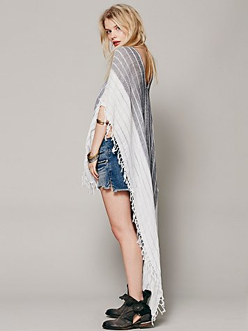 Free people  highs and lows poncho at free people clothing boutique