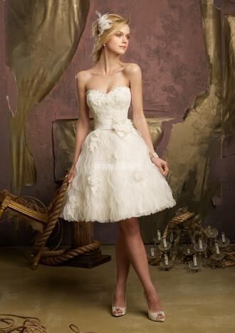 short dress ball gown wedding clothes