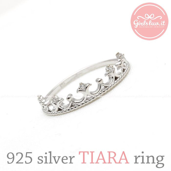 jewels jewelry ring sterling silver ring tiara tiara ring princess jewelry crown ring