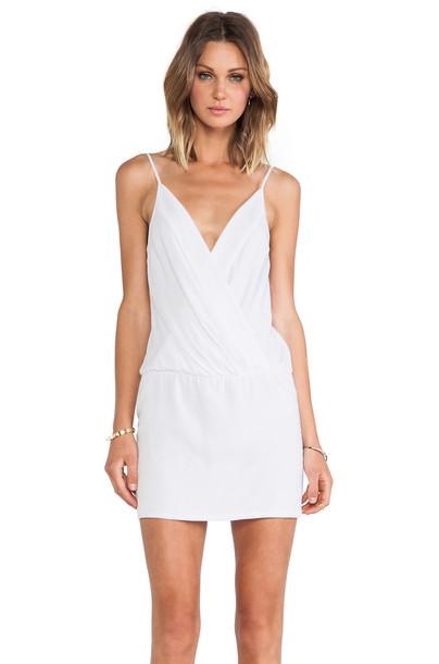 Black Halo dress mini dress mini white