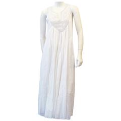 Calypso luciana dress in white