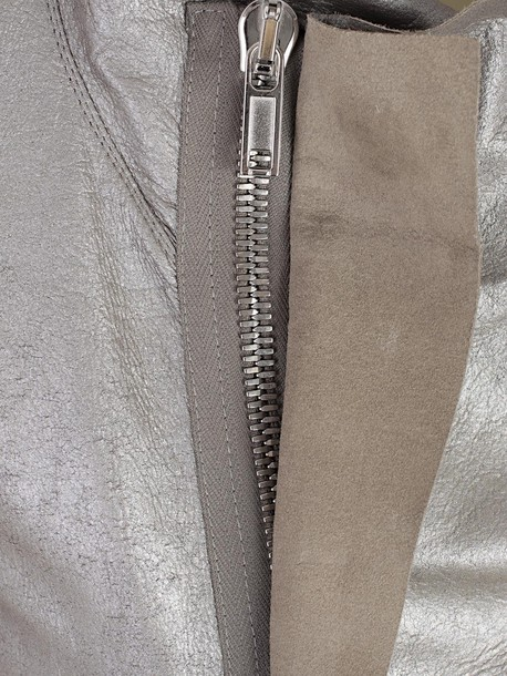 Rick Owens jacket silver